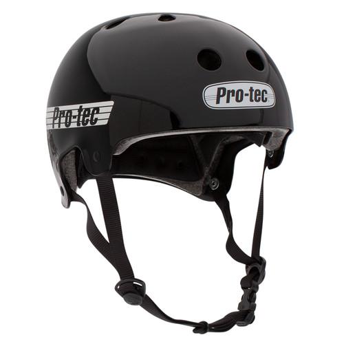 Protec Old School Certified Helmet in Gloss Black