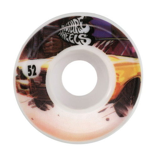 Picture Wheel Co Kung Fu Drifter Team Series Go Fast 52MM Skate Wheels