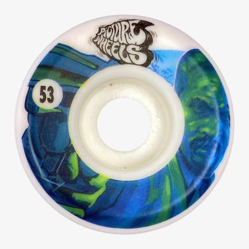 Picture Wheel Co Kung Fu Drifter Team Series Hit Man 53MM Skate Wheels