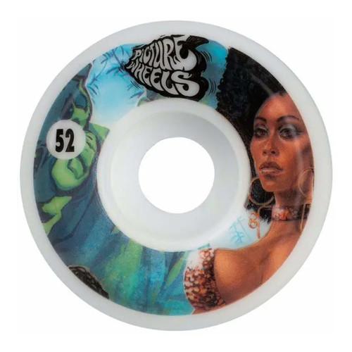 Picture Wheel Co Kung Fu Drifter Team Series Shining 52MM Skate Wheels