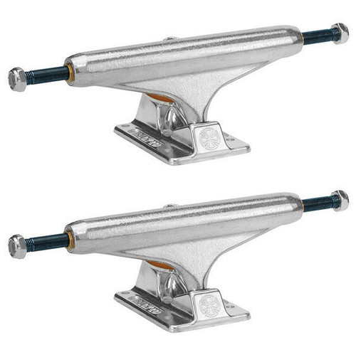 Independent Forged Titanium 144 Skate Trucks in Silver