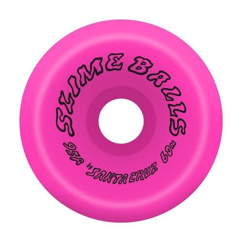 Santa Cruz Scudwads Vomits 60MM 95A Skate Wheels in Pink
