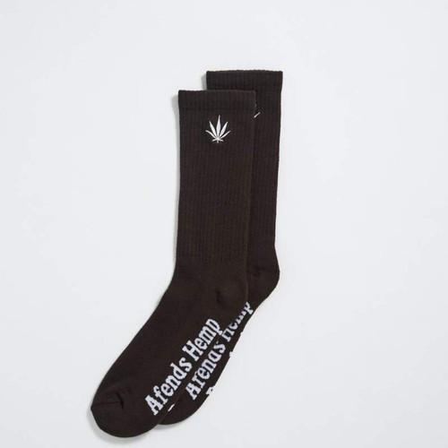 Afends Happy Hemp Sock in Coffee