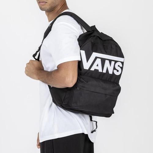 Vans Old Skool III Backpack in Black White