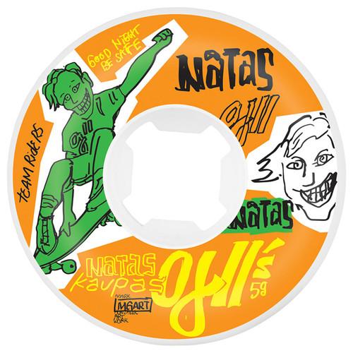 OJ Wheels Natas Kaupas OJ2 Hardline 58MM 95A Skate Wheels