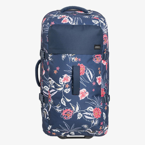 Roxy Fly Away Too 100L Travel Bag Womens in Mood Indigo Sunset Boogie