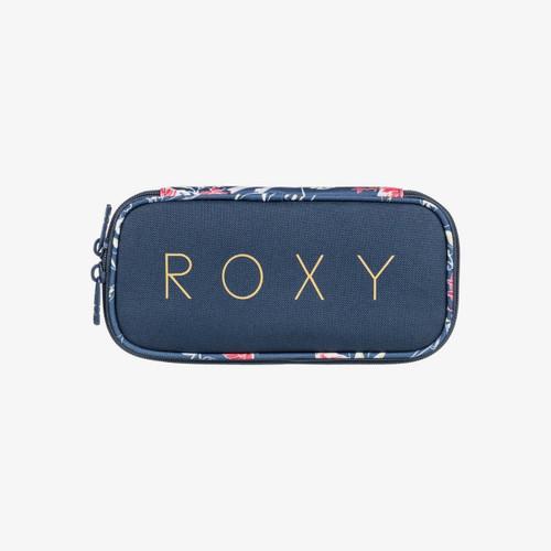 Roxy Take Me Away Pencil Case Womens in Mood Indigo Sunset Boogie