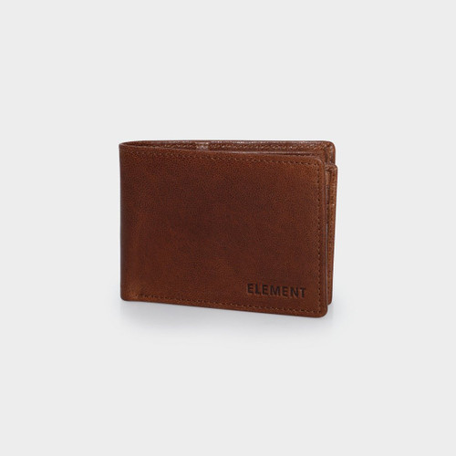 Element Chief Wallet Mens in Chocolate