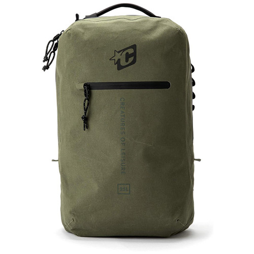 Creatures Of Leisure Transfer Day Bag 25L in Military
