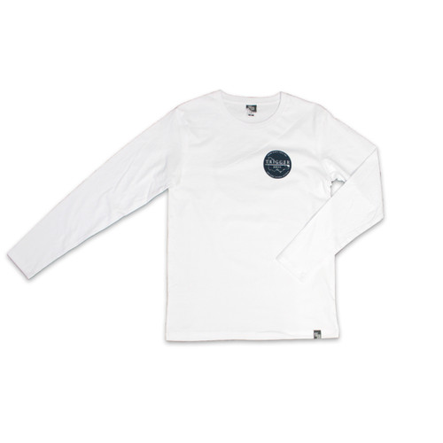 Trigger Bros East Coast Long Sleeve Tee Youth in White
