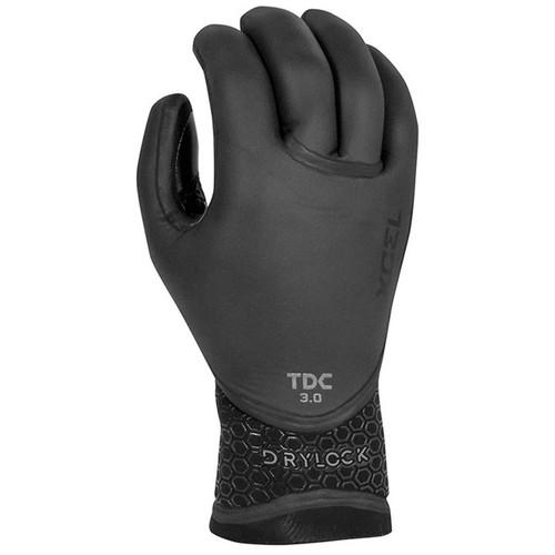 Xcel 3MM Drylock 5 Finger Glove in Black
