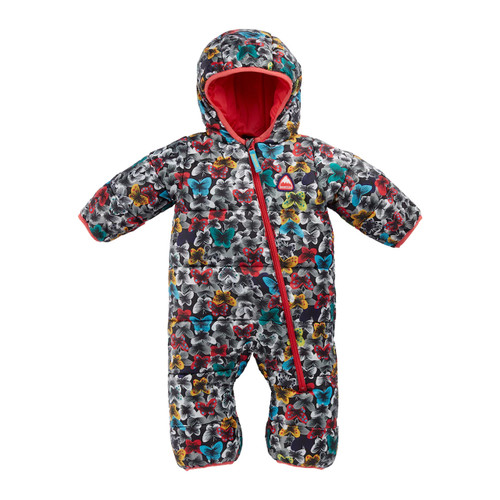 Burton Infant Buddy Bunting Suit Toddlers in Multicolour Butterfly