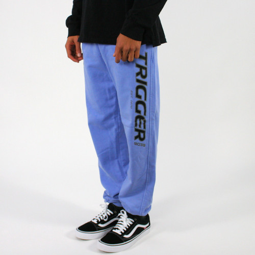 Trigger Bros Original Tracksuit Pant Mens in Light Blue