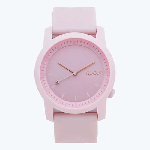 Rip Curl Cambridge Silicone Girls Watch in Pink Rose