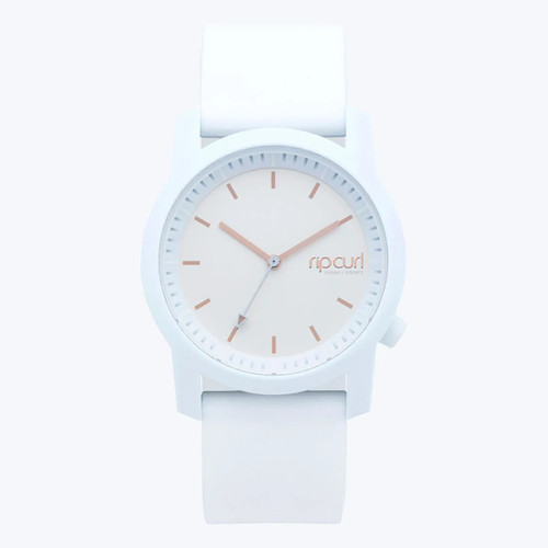 Rip Curl Cambridge Silicone Girls Watch in White