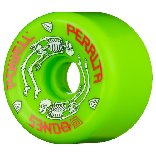 Powell Peralta G Bones 64MM x 97A Skate Wheels in Green