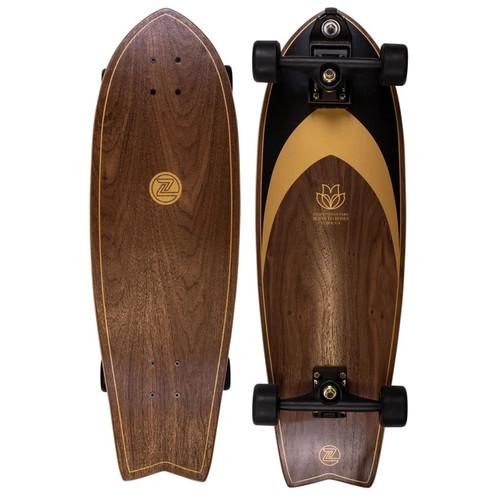 Z-Flex Ruins To Roses Surfskate Fish 31in Skateboard