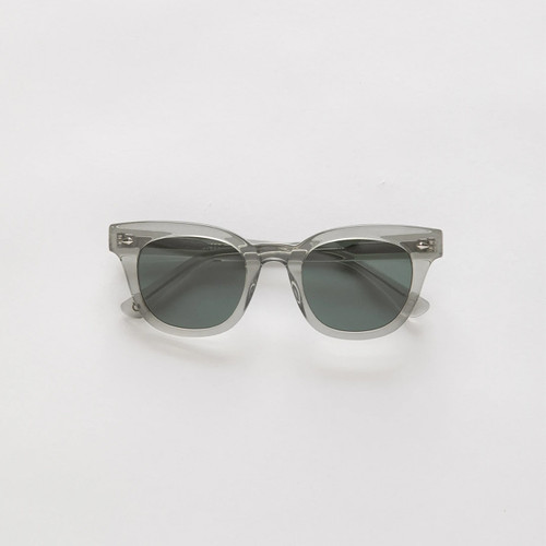 Epokhe Dylan Sunglasses in Smoked Crystal Polished Green