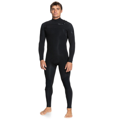 Quiksilver 3x2 Everyday Sessions CZ Steamer Mens in Black
