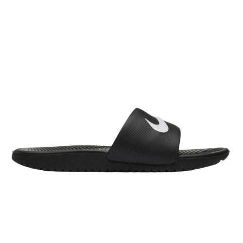 Nike Kawa Slide Youth in Black White
