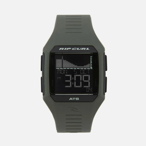 Rip Curl Rifles Midsize Tide Watch Mens in Army