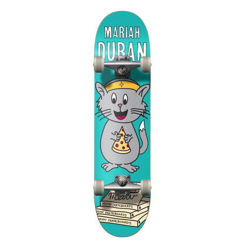 Meow Mariah Duran Whiskers 8.0 Skateboard Complete