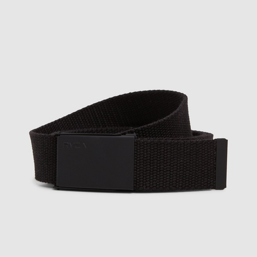RVCA Option Web Belt in Black