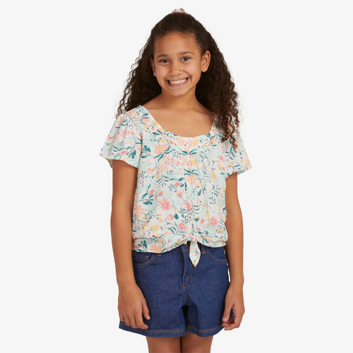 Roxy All For Love Top Girls in Snow White Kaleidoscope