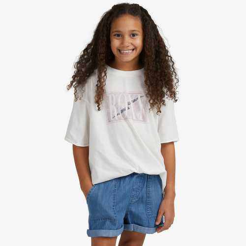 Roxy Younger Now Tee Girls in Snow White