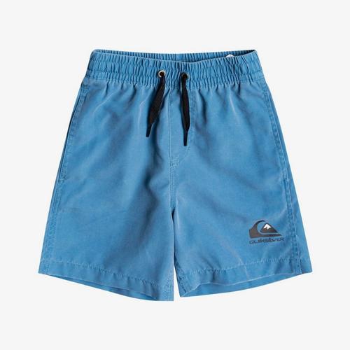 Quiksilver Surfwash Volley 12in Swim Short Junior Boys in Vallarta Blue