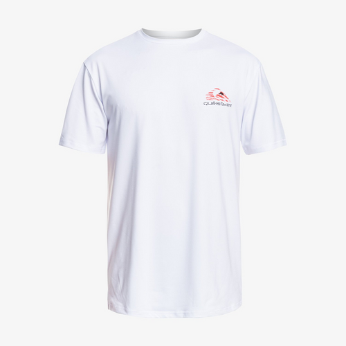 Quiksilver Mystic Session Surf Tee Mens in White