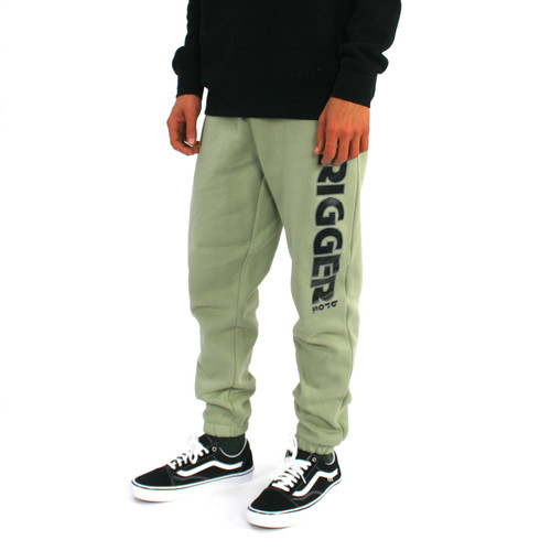Trigger Bros Stealth Track Pant Mens in Pistachio
