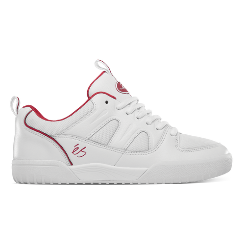 Es Silo SC Shoes Mens in White Red