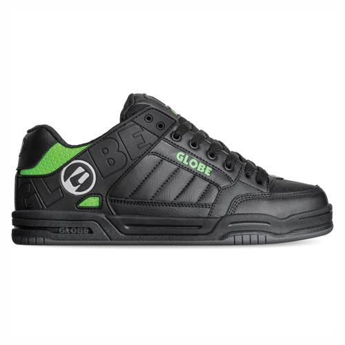 Globe Tilt Shoes Mens in Black Poison Green