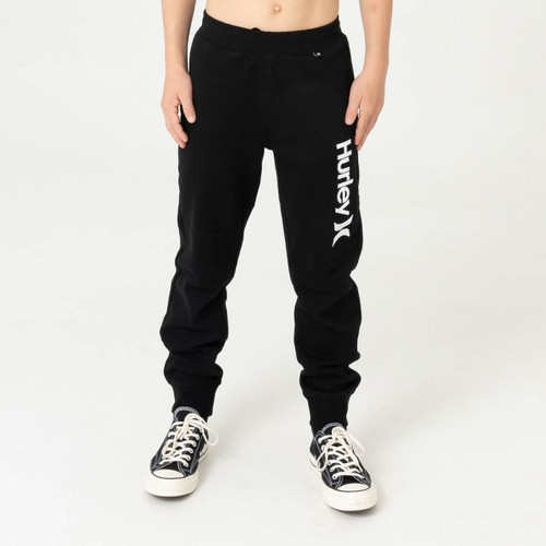 Hurley One And Only Track Pant Boys in Black
