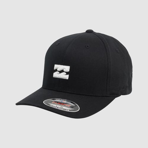 Billabong All Day Flexfit Cap in Black White