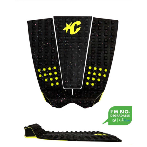Creatures Grom Italo Ferreira Lite Ecopure Tail Pad in Carbon Eco Lime
