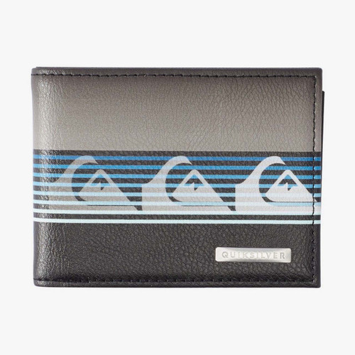 Quiksilver Freshness Tri Fold Wallet Mens in Black