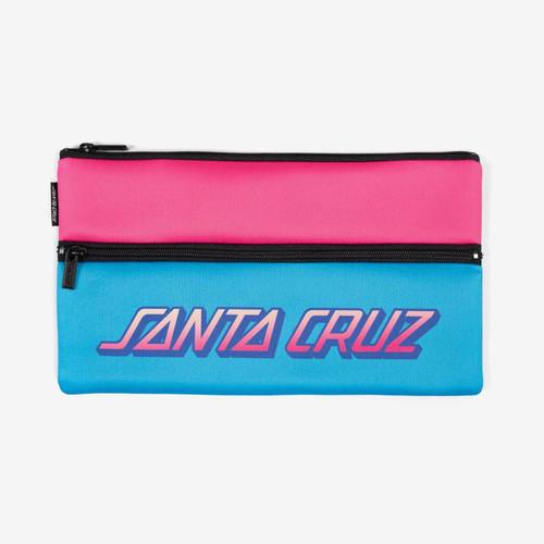 Santa Cruz SC Stripe Pencil Case Girls in Multi