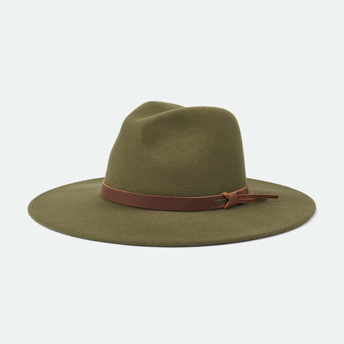 Brixton Field Proper Hat in Military Olive