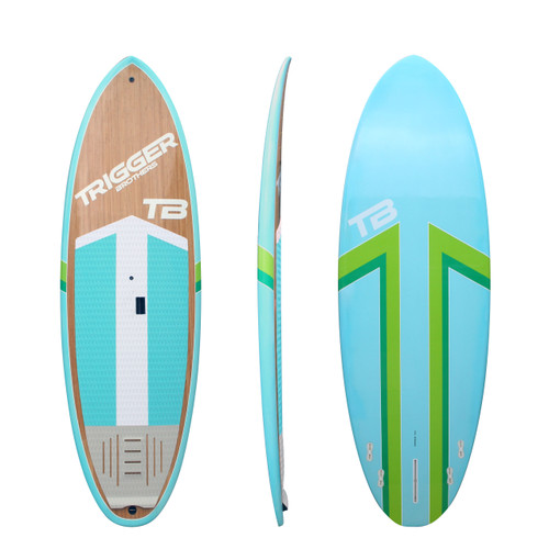 Trigger Bros Premium Stand Up Paddle Board in Blue