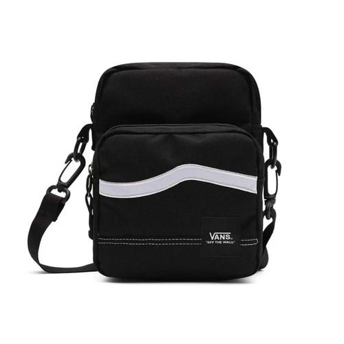 Vans Construct Shoulder Bag in Black White