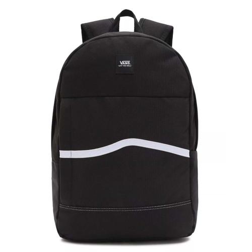 Vans Construct Skool Backpack in Black White