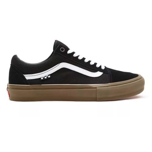 Vans Skate Old Skool Shoes Mens in Black Gum