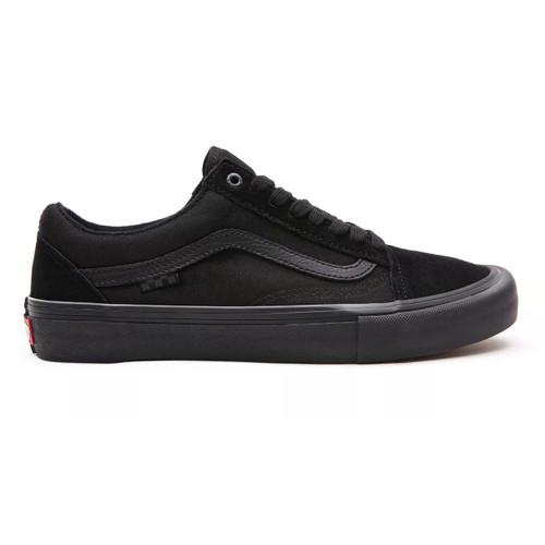 Vans Skate Old Skool Shoes Mens in Black Black