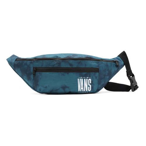 Vans Ward Cross Body Pack in Blue Coral Tie Dye