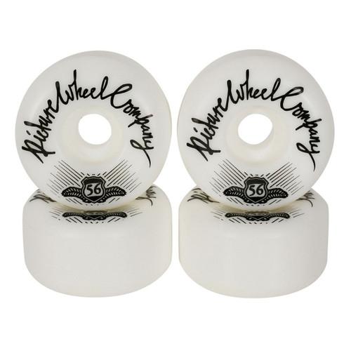 Picture Wheel Co Shield Conical Shape 56MM 83B Skate Wheels in Black