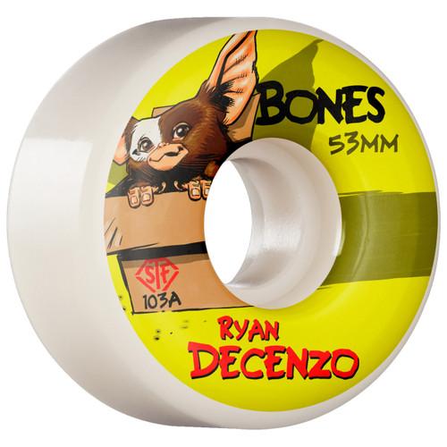 Bones STF Decenzo Gizmo 53MM Skate Wheels