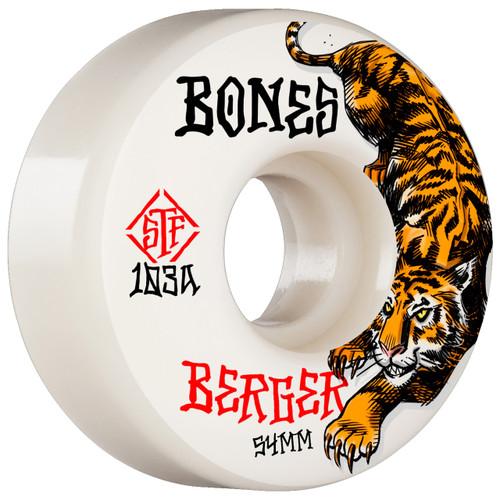 Bones STF Berger The Hunter 54MM Skate Wheels