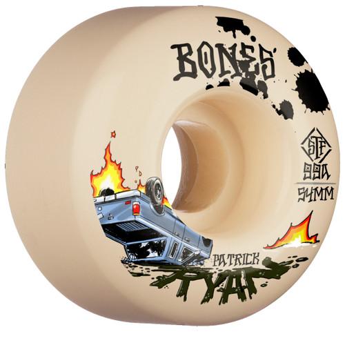 Bones STF Ryan Crash and Burn 54MM Skate Wheels